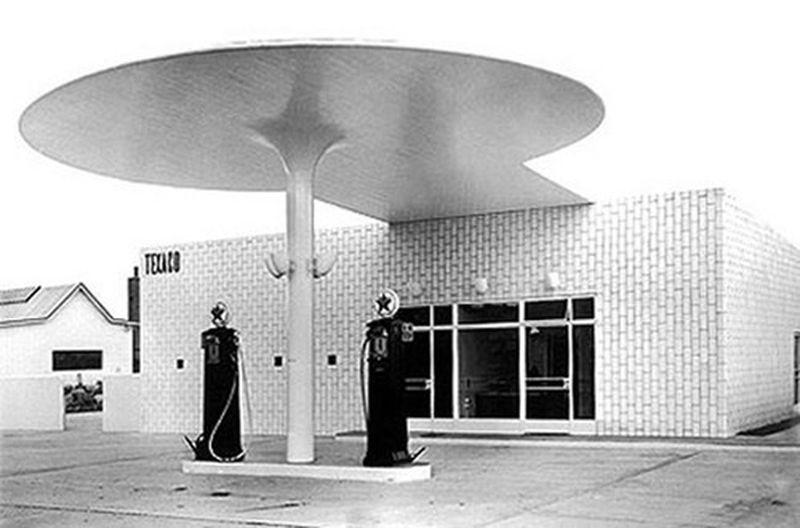 image: Arne Jacobsen, Gas Station | Copenhagen, 1936 by martinvazquez
