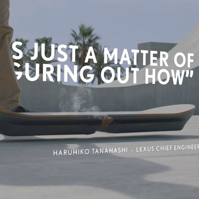 video: Lexus Hoverboard by jason
