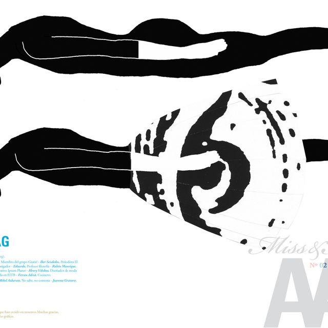 image: N04'  MEN IN BAG --- Miss&Mister AA' FANZINE by aaenterprise