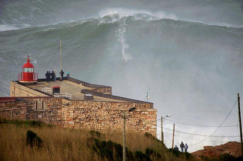image: Garrett McNamara riding a 100-foot wave in Nazaré? by dr-drake