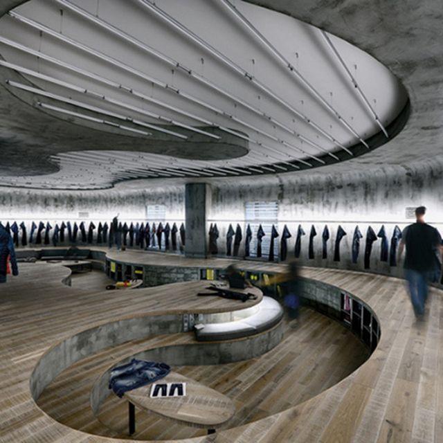 image: Denim Design Studio in Istanbul, Turkey by gustypeach