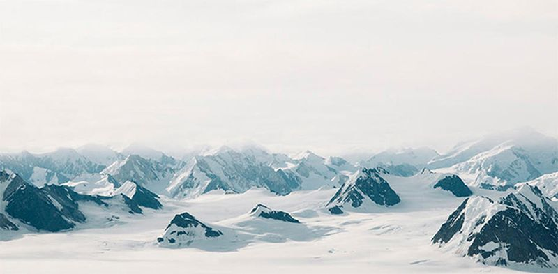 image: Snow Capped Mountain by wastedyouth
