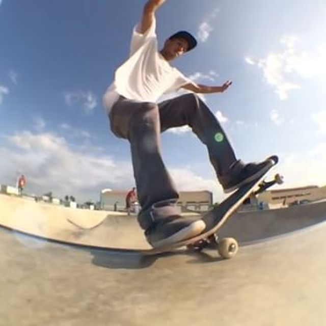 image: Throwback at Barceloneta skatepark  by charle3201