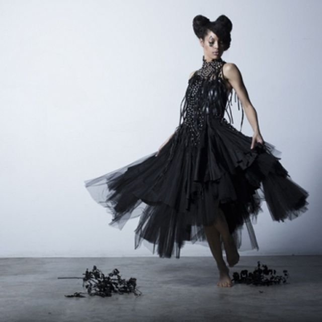 image: DARK EVOLUTION collection: AYC Couture by Aleem Yusuf by fashionnet