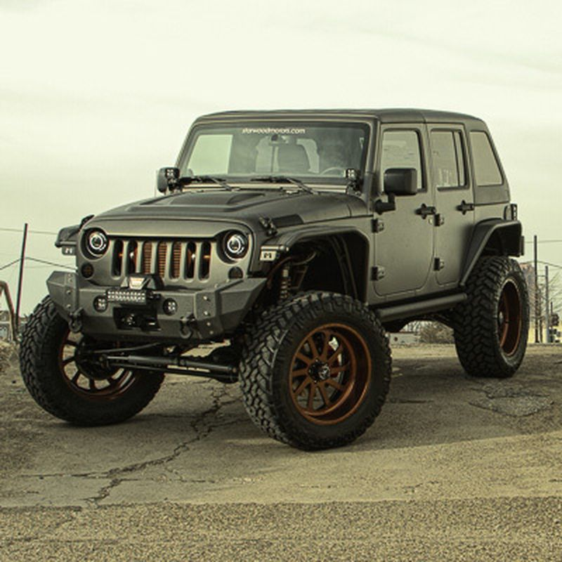 image: Jeep Wrangler Nighthawk by Starwood motors by dr-drake