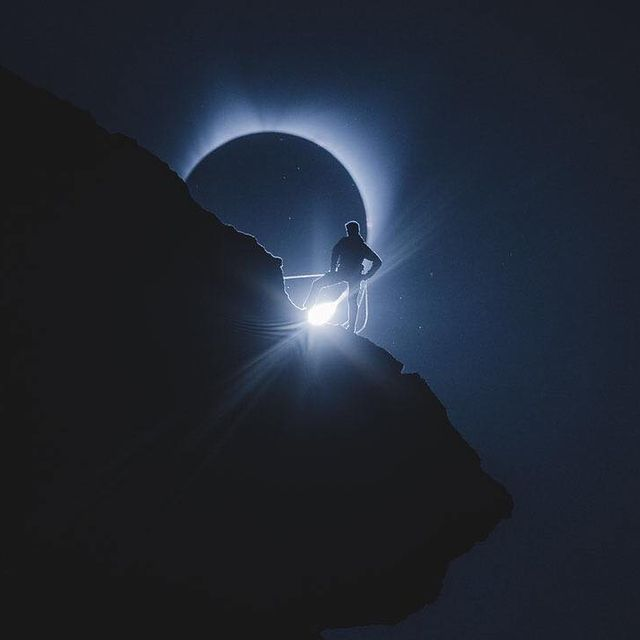image: Climbing towards the total eclipse of the Sun by astronomypicturesdaily