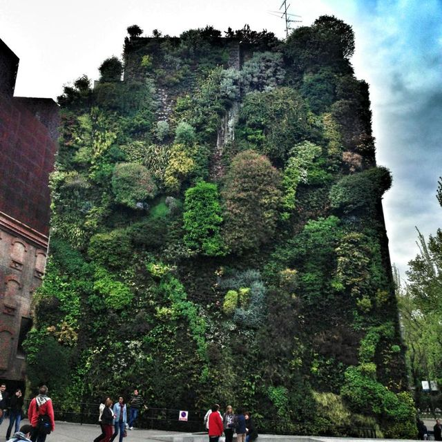 image: Vertical garden, Madrid by 2_ontheroad