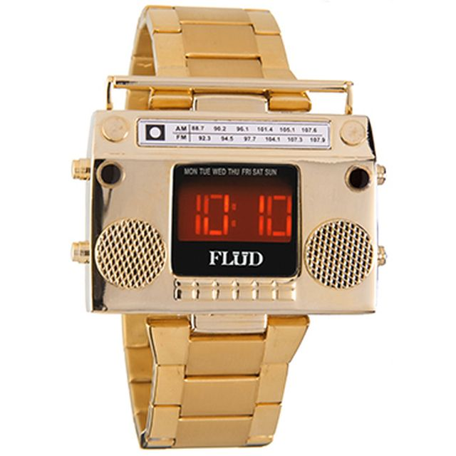 image: Flud BoomBox watch / HIP HOP Inspiration by zetandrews