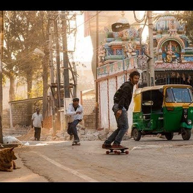 video: Skateboarding in India Episode 1 by grahamthunder