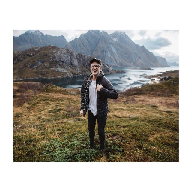 image: Smiling's my favorite.-I am partnering with @Colgate to celebrate #WorldSmileDay! Here is a photo of me taken by @joelhypponen in Norway. Share your #ColgateSmile today for a chance to be featured on @Colgate's new Instagram account. by gregorywoodman