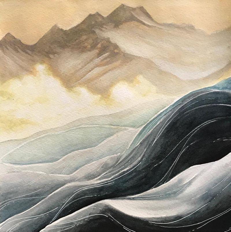 image: Golden Winter by seelyseeclimb
