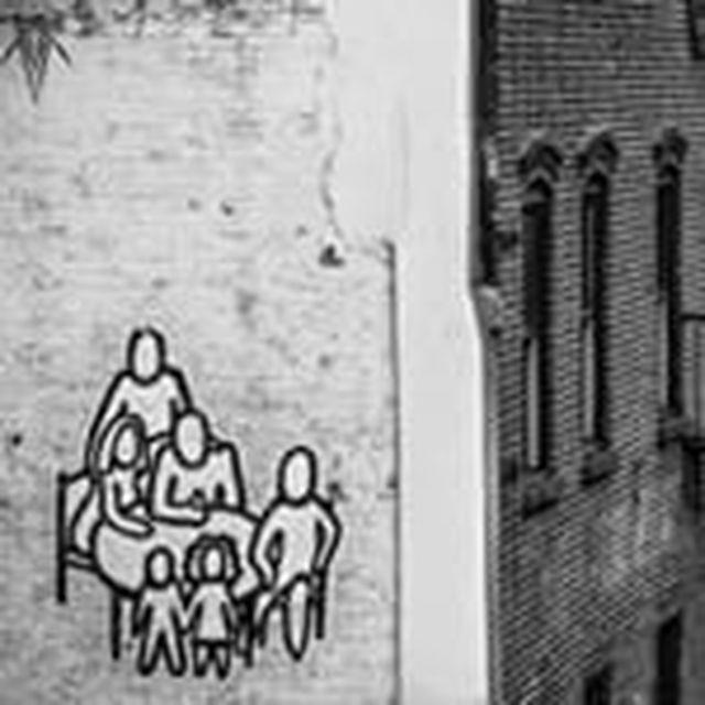 image: Family Street Art by wavesoftimeandspace