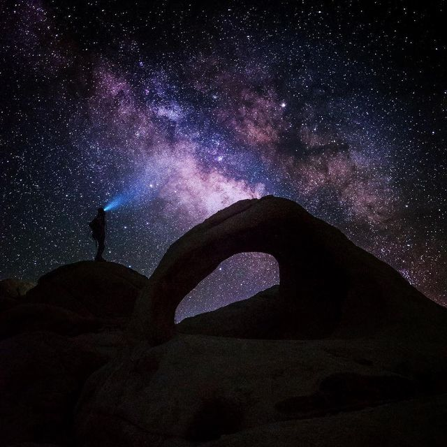 image: Love is as mysterious as the milkyway. by seanparkerphotography
