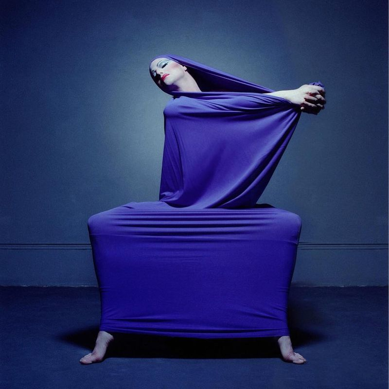 image: Richard Move portraying 20th century dance icon Martha Graham.  by ted