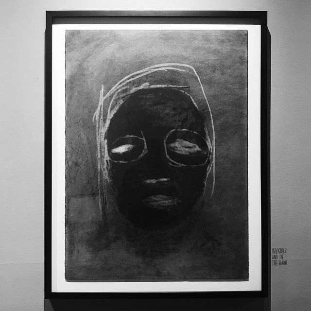 """image: TIRE FIRE opens tonight @boothgallery - above: """"Invisible & In The Dark"""" - email paulboothgallery@gmail.com for the exhibition... by jessedraxler"""