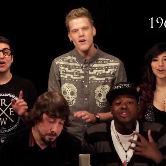 video: Evolution of Music - Pentatonix by martinrush