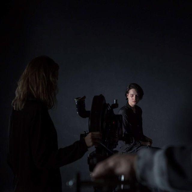 image: backstage shot from my film...by @aleksandra.gach #arri435 by weronikaizdebska