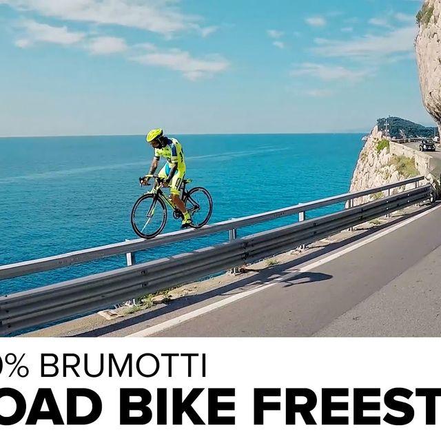 video: Freestyle on a Road Bike, Brumotti by nachocarpio