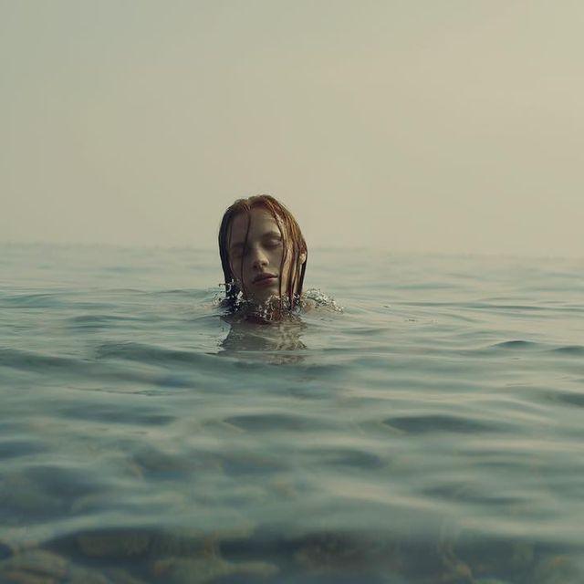 image: Sea with @pollyslips_ by martabevacqua