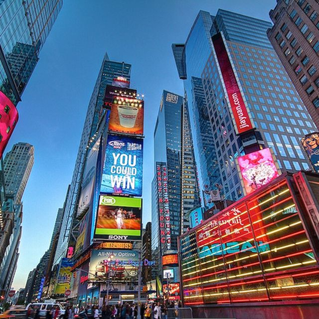 image: Times Square feelings by mindfultravelbysara