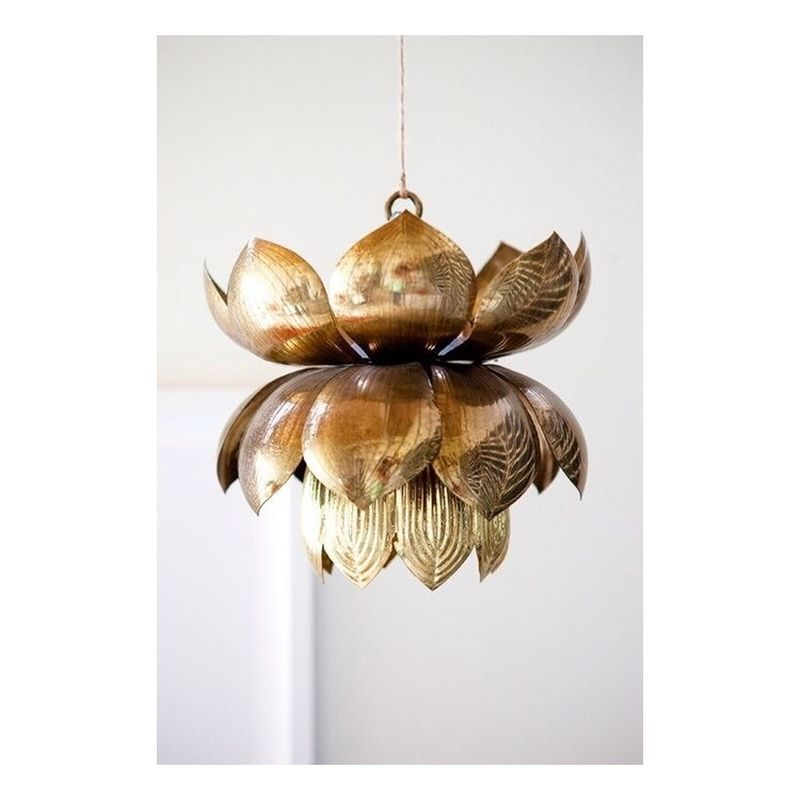 image: Lotus lamp by nosyparker