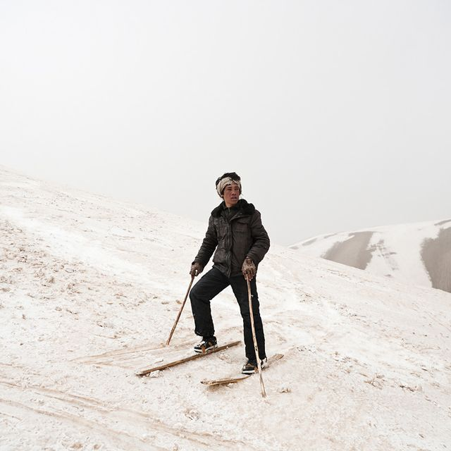 image: AFGHANISTAN SKIER by luciaode