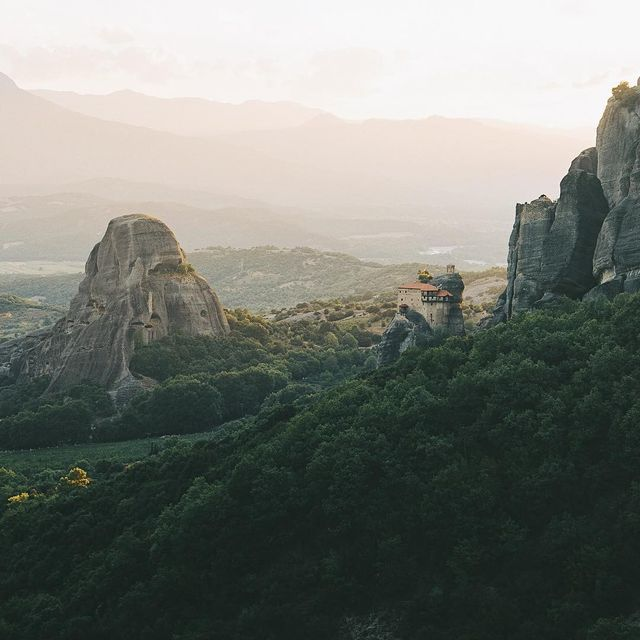image: I've never been to China but it's been a dream of mine for long. Somehow when I visited the Meteora in Greece I couldn't help but think I was somewhere deep inland in that intriguing country, with many centuries old monasteries perched on top of giant... by lebackpacker