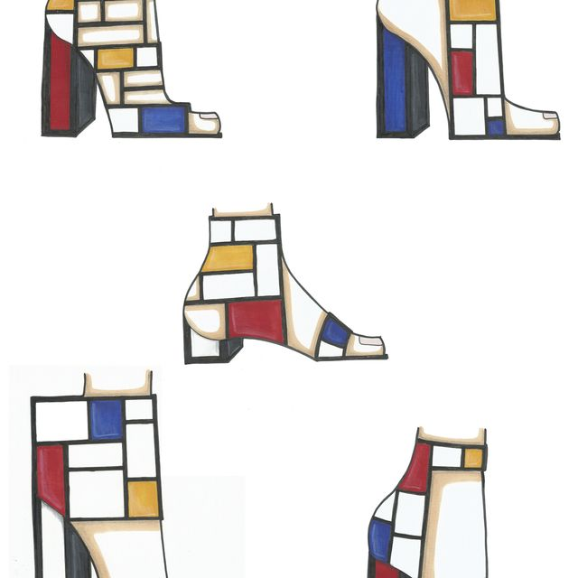 image: Mondrian by diaryofstyle