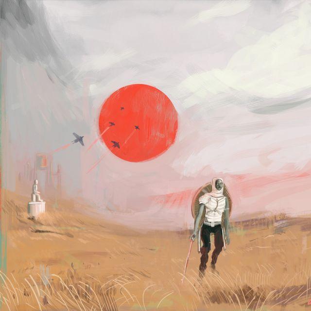 image: Red Sun by luisrico