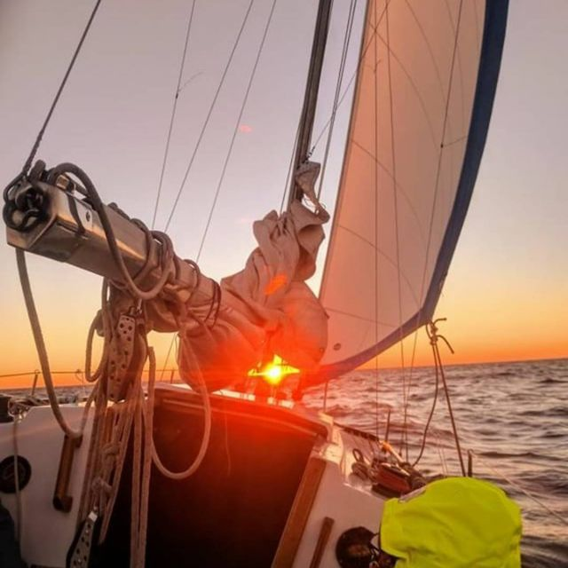 image: Beautiful sunrise ?..? sent to us by @mrantel by sailing_boats