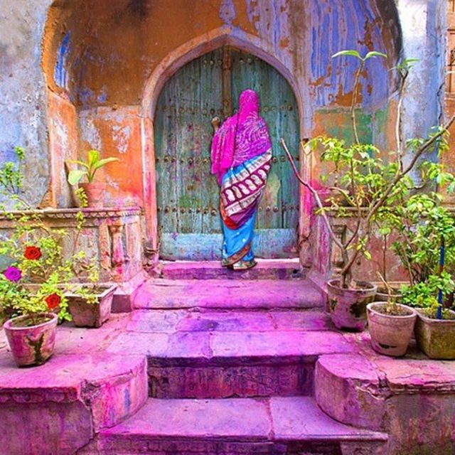 image: Colorful India by martanicolas