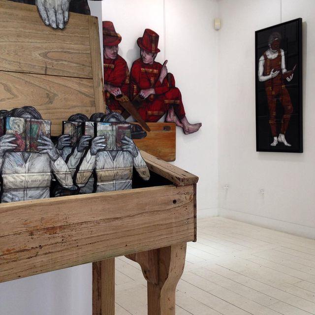 """image: Ready for Tomorow! Exposition """"Undercover"""", à partir de 18h à la  @galeriegeraldinezberro ! by levaletdessinderue"""