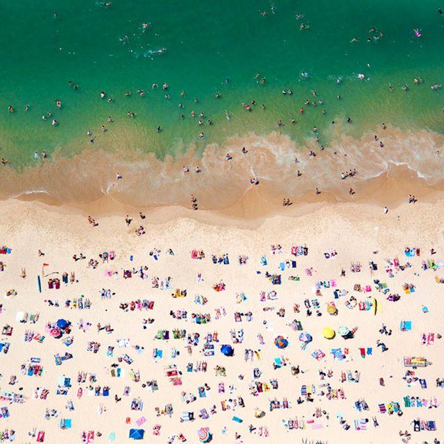 image: a la plage, a la piscine: aerial beach photographs b... by andreagenova