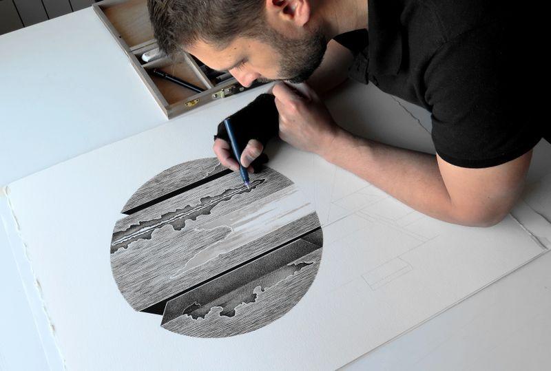 image: ARTWORK IN PROGRESS . ÓRBITAS XVI by danielrod