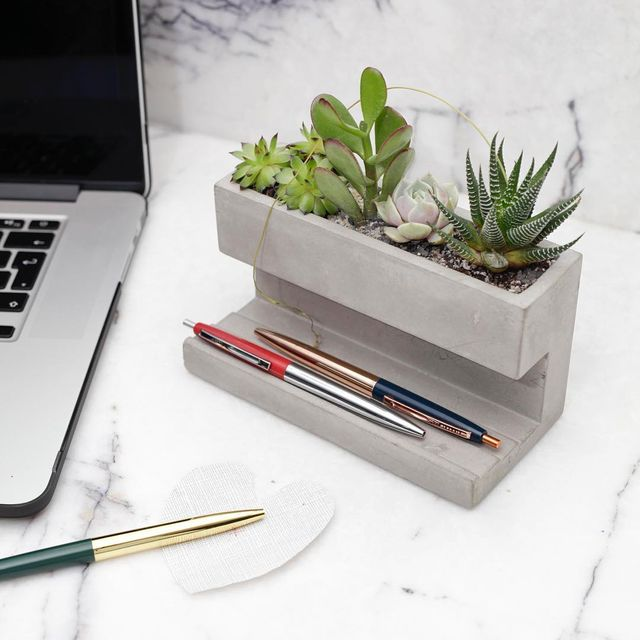 image: Concrete Desktop...by Kikkerland Design.#p_roduct by product
