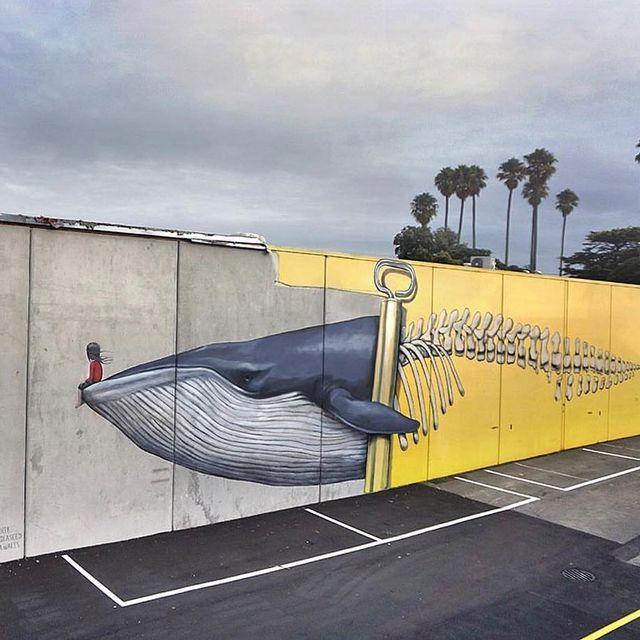 image: @seth_globepainter wall im Napier, New Zealand ?? (2017)•#sethglobepainter #urbanart #streetart #painting #streetartofficial #contemporaryart #napier #newzealand by streetart_official