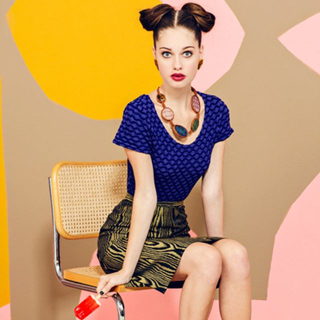 """image: Gabby by JUCO Photo in """"Laffy Taffy"""" for FGR by fashionnet"""