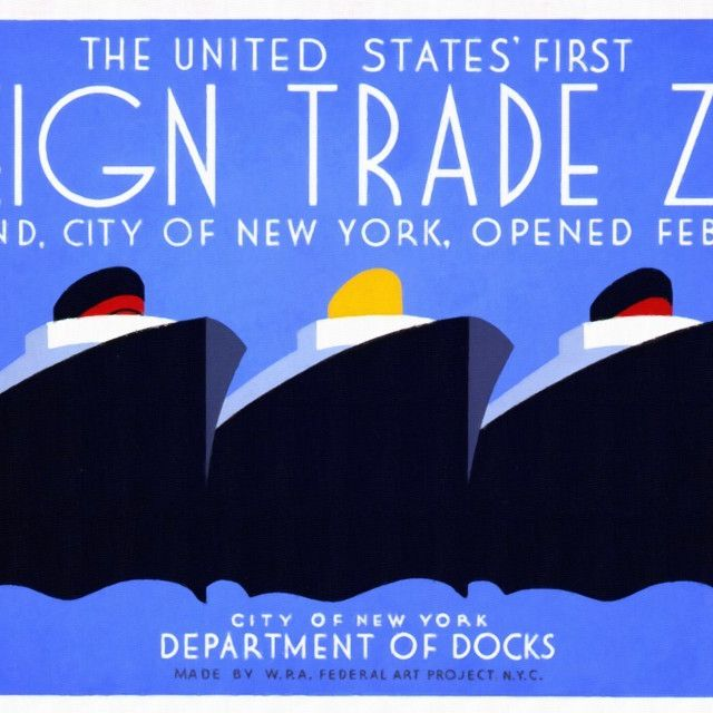 image: The United States' First Foreign Trade Zone by gabrielttoro