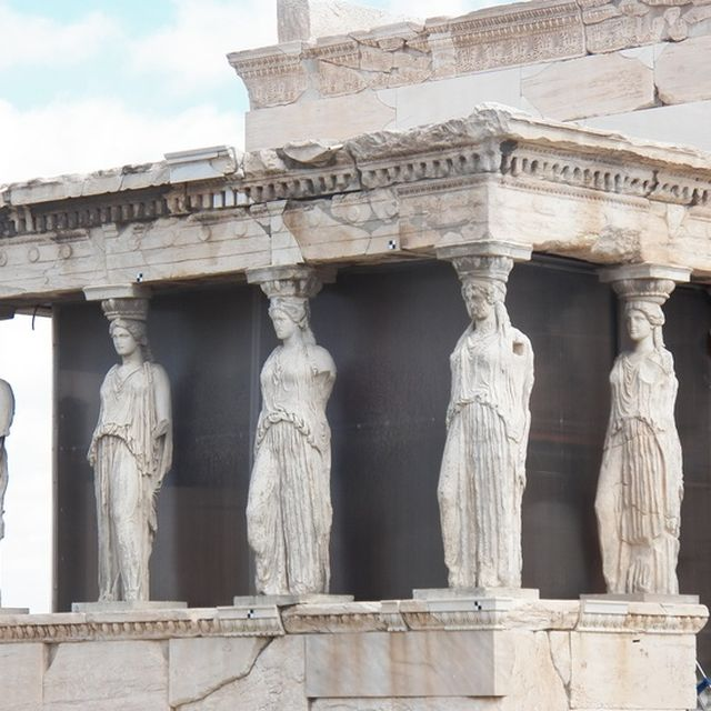 image: Caryatides on the Erechtheion - athens by karl