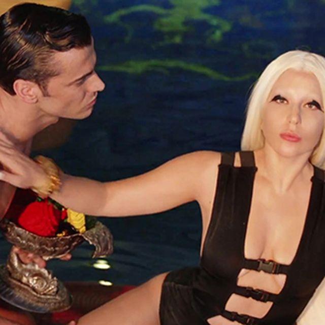 image: LADY GAGA WEARS POL FOR HER VIDEO G.U.Y by poldsgn