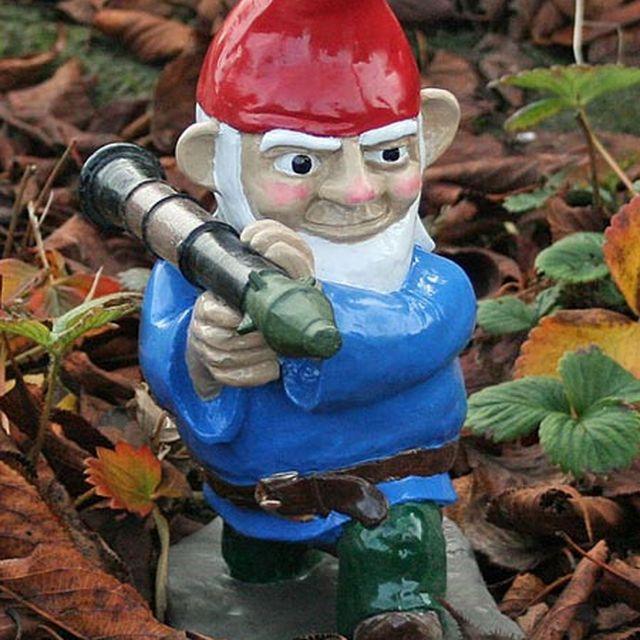 image: Bazooka Gnome by paulojfutre