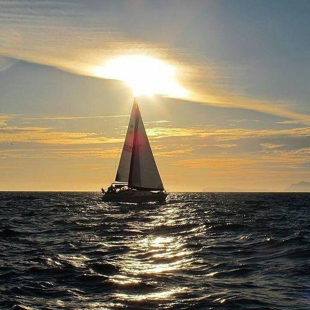 image: Sailing near Catania Italy ??..? sent to us by @grazianomalerba by sailing_boats