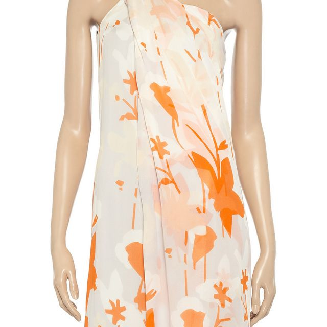 image: DvF one shoulder dress by xerryberry