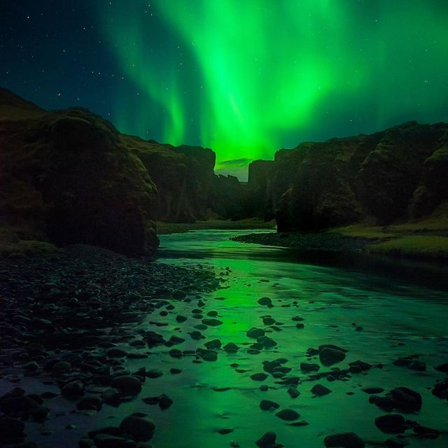image: The Green Lantern. Can't wait to return to Iceland in October with my workshop clients 🙌🏼 by seanparkerphotography
