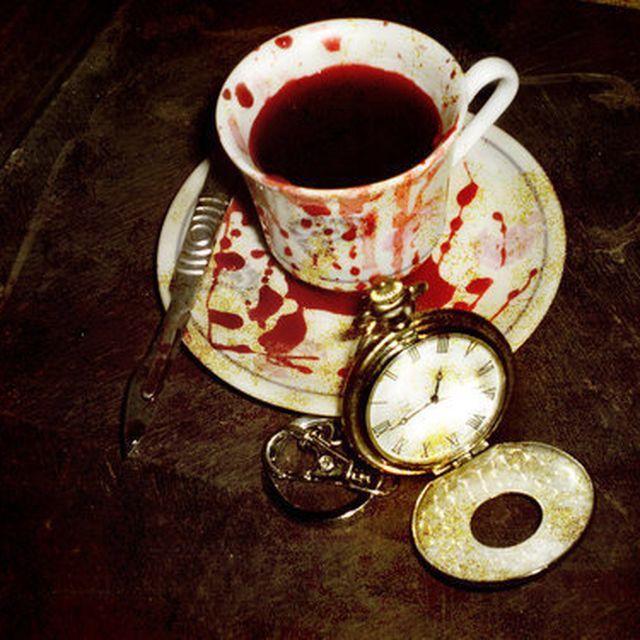 image: A cup of blood by pit
