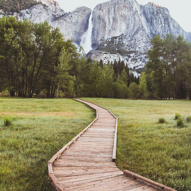 image: Early summer in Yosemite Valley, taken a few years back while in a road trip with my dad. by lostintheforrest