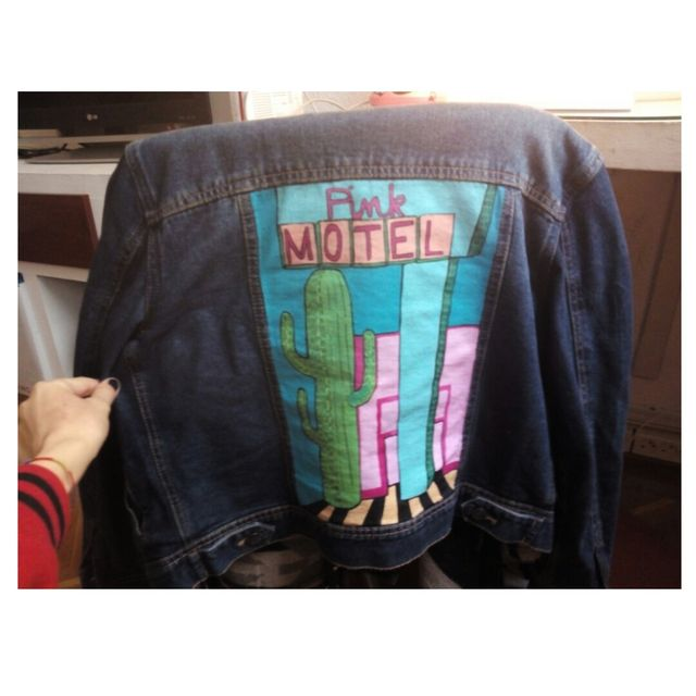 image: HANDPAINTED JACKET by haizeita
