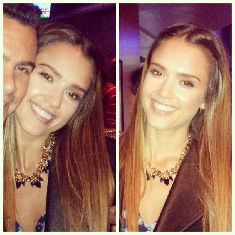 image: JESSICA ALBA with SCHIELD necklace by diegodiazmarin