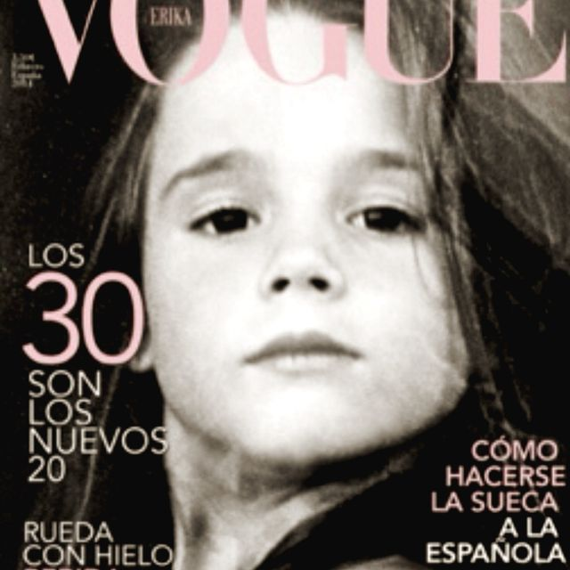 image: When mini-me was Vogue's cover girl ;) by erikanavarlaz