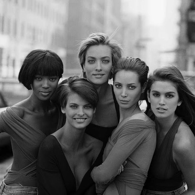 image: SUPERMODELS  by Peter Lindbergh by tam